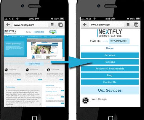 [Infographie] les conseils et exemples à suivre pour concevoir un site mobile