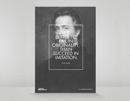 Citation graphiste Herman Melville