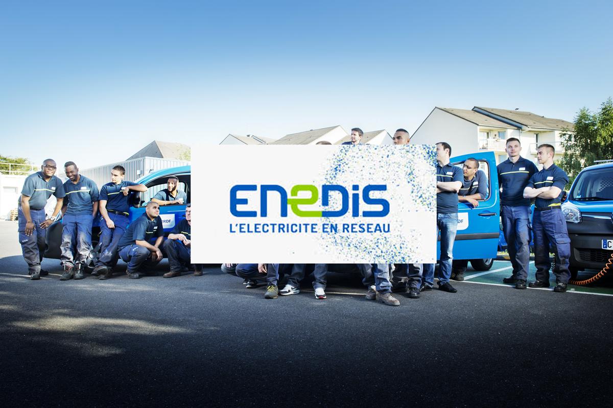 Le nouveau logo ERDF dévoilé : place à Enedis !