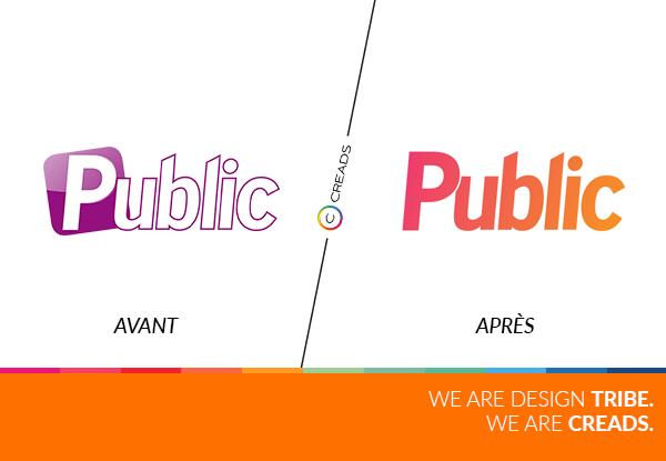 nouveau logo public