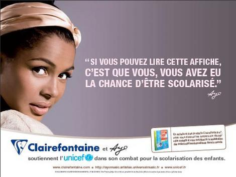 Nouvelle pub Clairefontaine : Help is coming