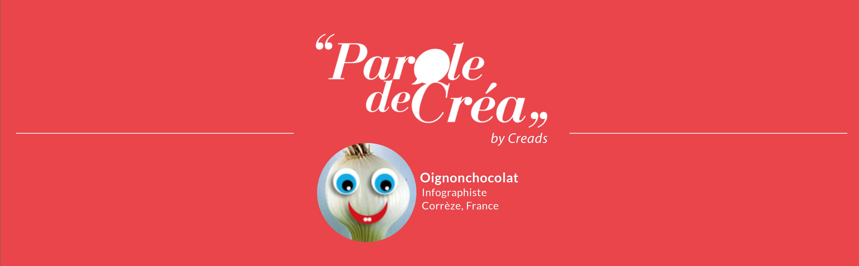 Paroles de créa - Découvrez l'interview de @oignonchocolat !