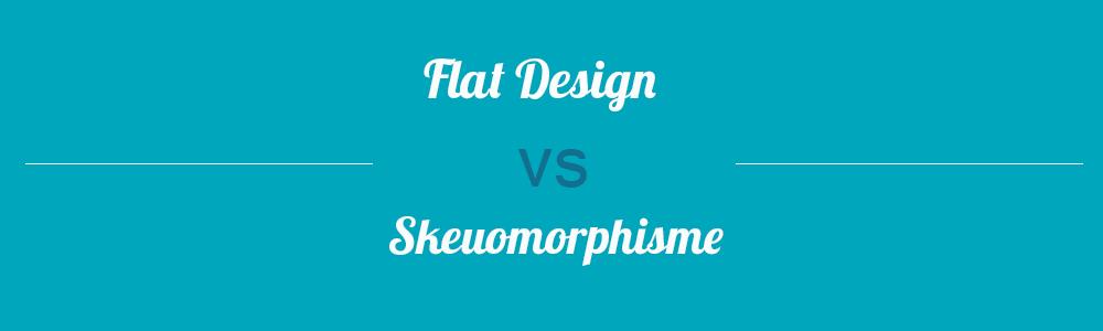 Flat Design vs Skeuomorphisme : décryptage by Creads !