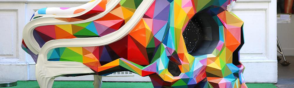 Talent à Suivre : Okuda, un street artiste pop-surréaliste