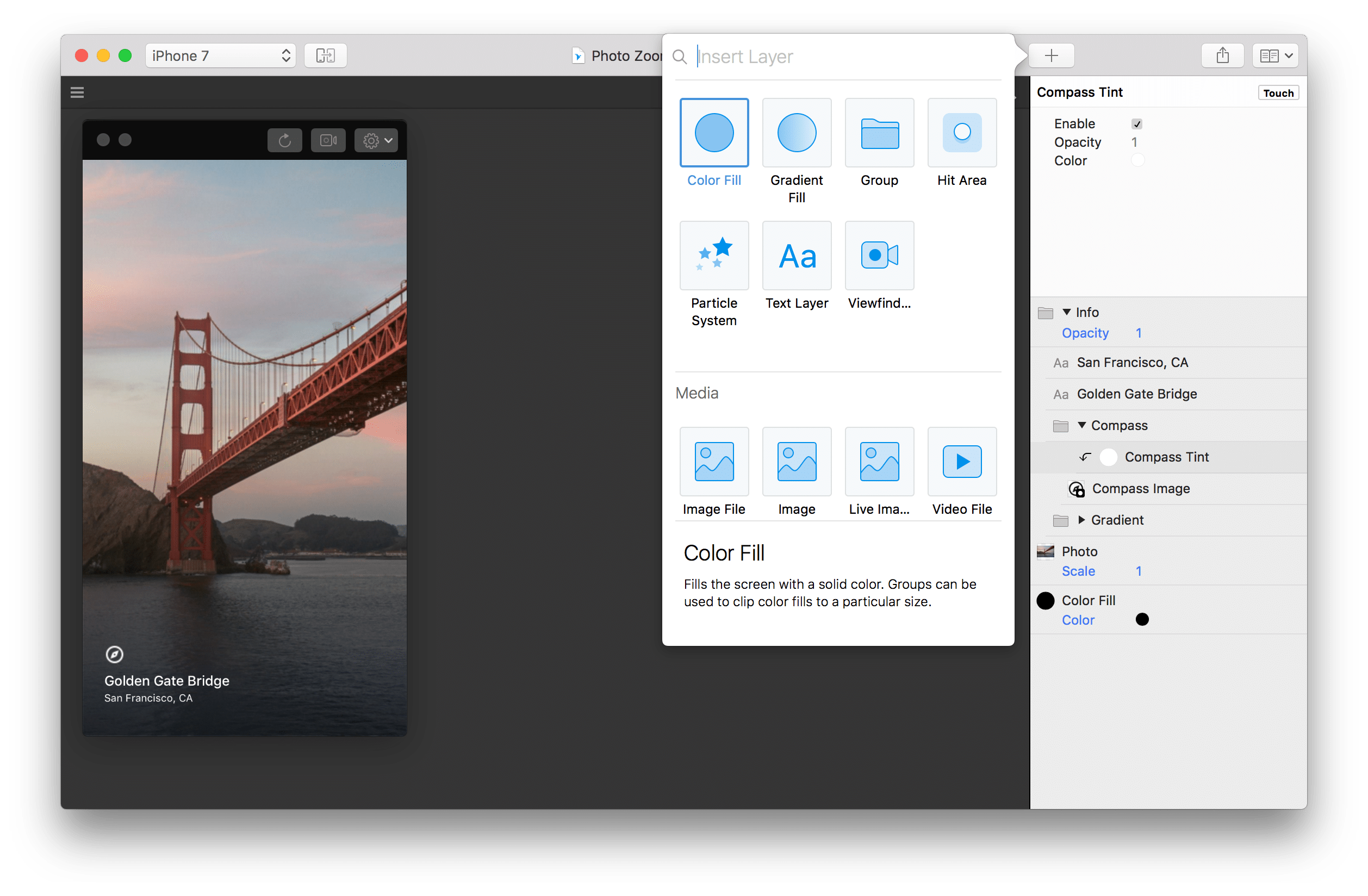prototype webdesign