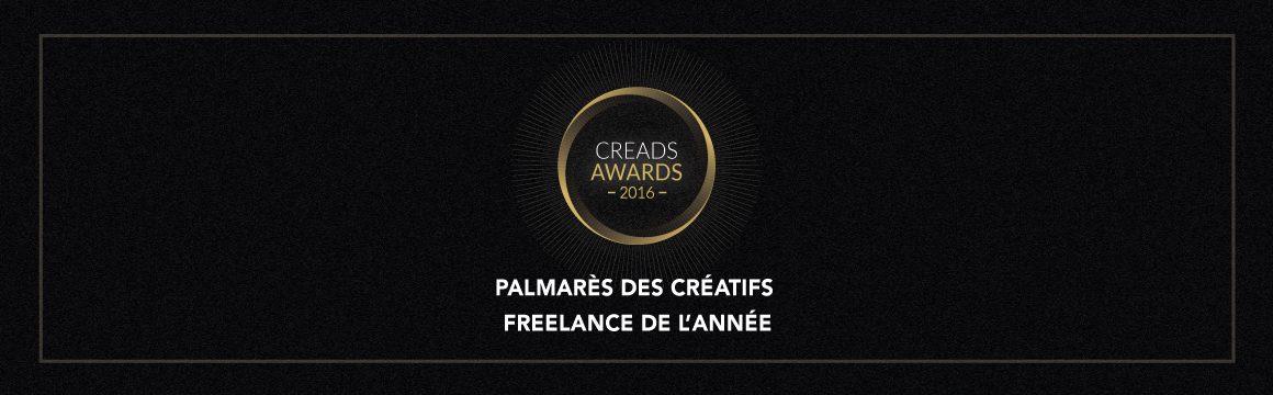 Creads Awards 2016 : découvrez le palmarès !