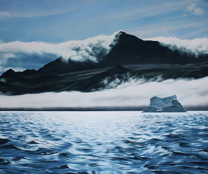 Talent à suivre: Zaria Forman et ses icebergs de pastel.