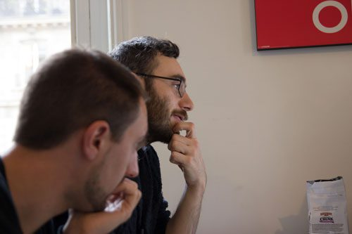 L'équipe développeurs au sein de Creads