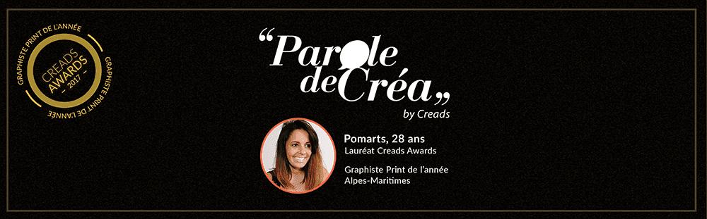 Paroles de Pomarts, 28 ans, Graphiste