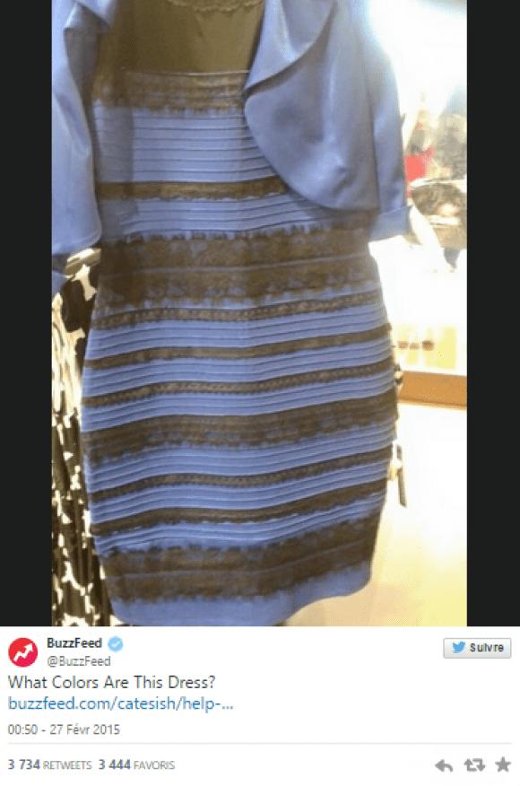 La robe de la discorde #LaRobeEst