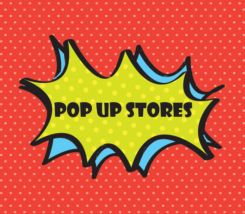 Audacieux pop up stores