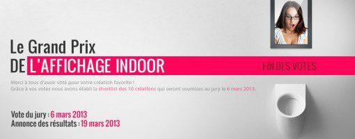 Grand Prix de l'Affichage Indoor organisé par Creads