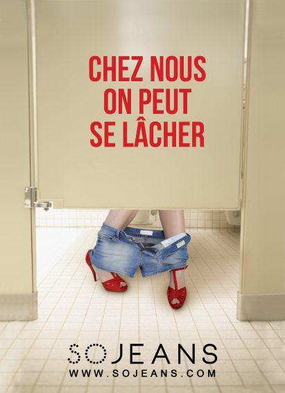 Annonceur SoJeans - ©Grand Prix de l'Affichage Indoor