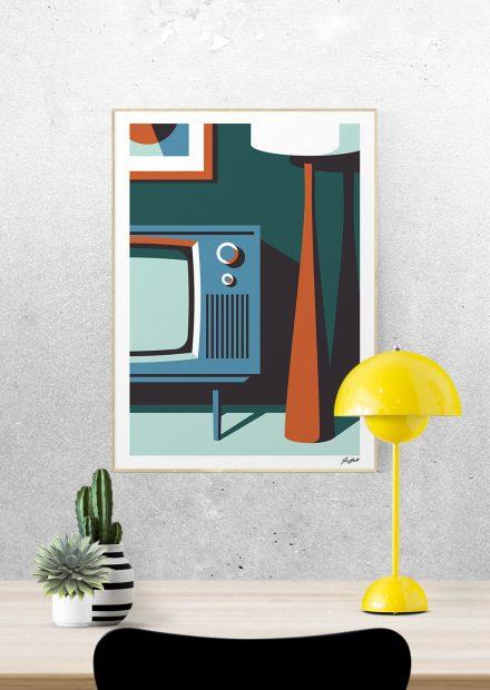Talent à Suivre : Jeremy Booth et ses illustrations au design rétro