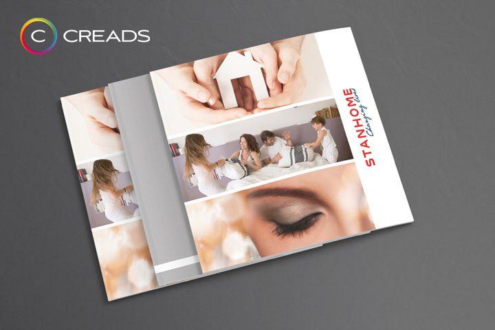 Stanhome fait appel à Creads pour sa nouvelle brochure.