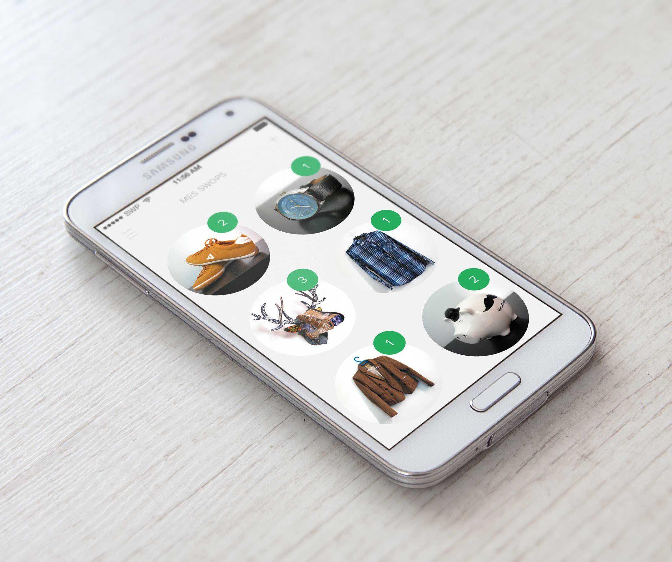 Swopr, une application révolutionnaire de troc sur smartphone lancée par un membre de Creads !
