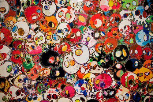 takashi-murakami-flowers-amp-skulls-exhibition