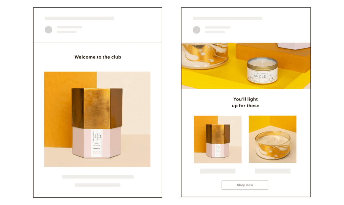 modèles newsletter mailchimp agence creads