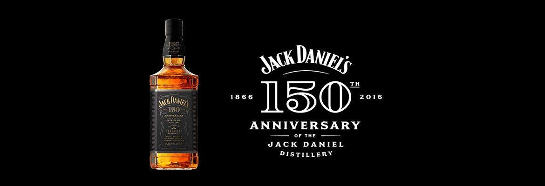 Nouveau logo Jack Daniel's pour les 150 ans