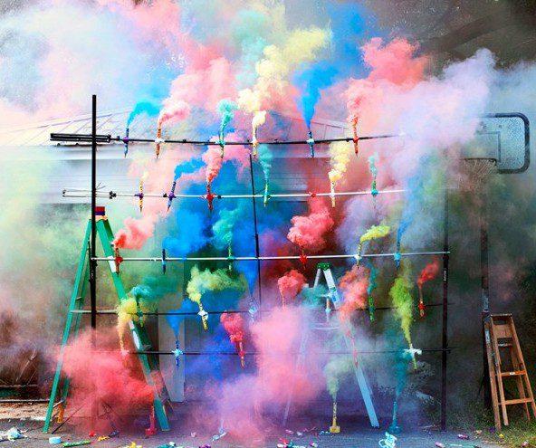 Talent à suivre : Olaf Breuning et ses photographies très colorées