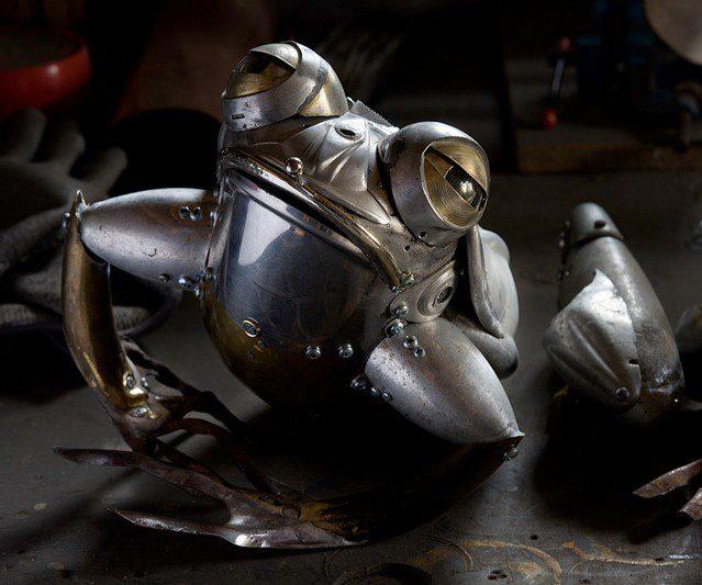 Talent à suivre: Les animaux métalliques d'Edouard Martinet