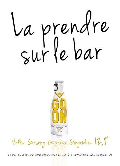 Annonceur Trendy Drink - ©Grand Prix de l'Affichage Indoor