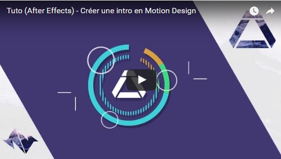 tutos spécial motion design