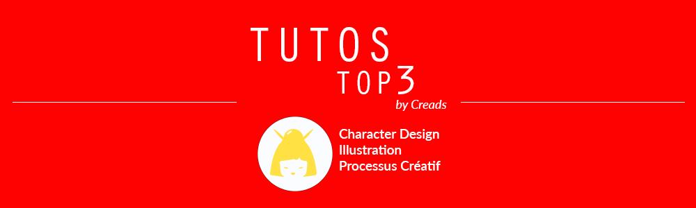 3 tutos spécial Character Design : à vous de rendre votre personnage vivant !