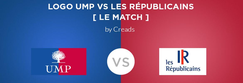 [Infographie] UMP vs les Républicains, le match du logo