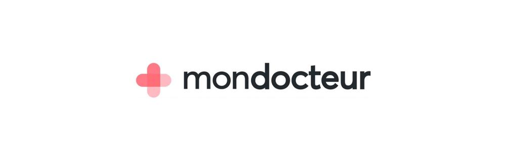 Décryptage du nouveau logo MonDocteur : une croix, un pansement et un coeur