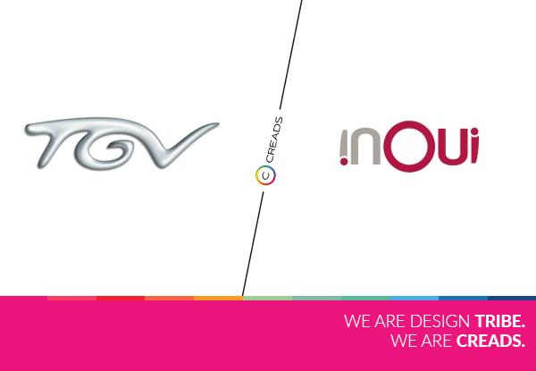 évolution du logo TGV