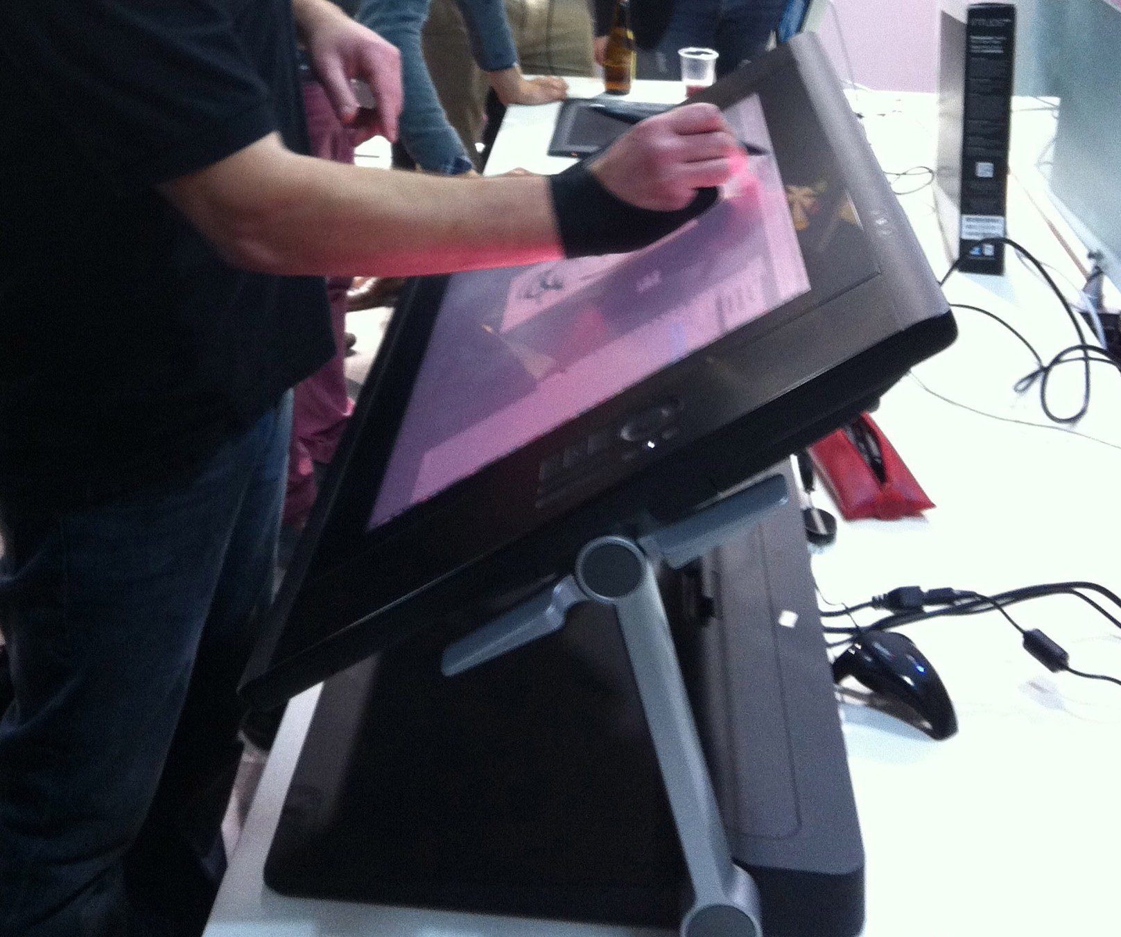 On a essayé la Cintiq 24HD Touch