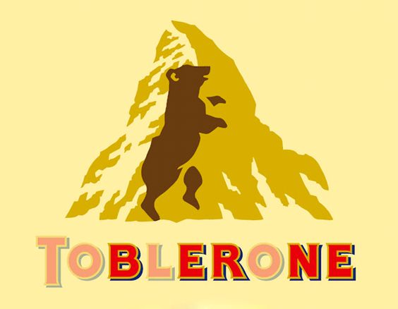 toblerone logo explication